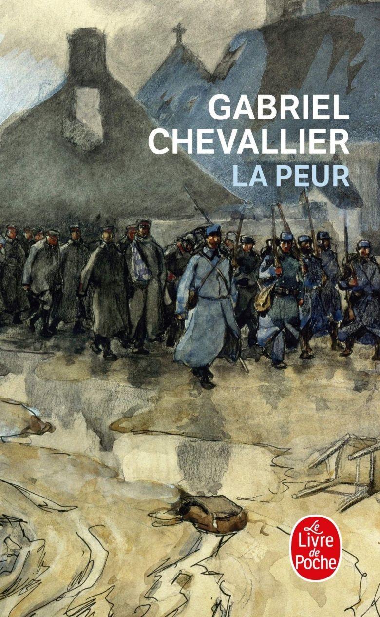 La Peur, de Gabriel Chevallier, en Livre de Poche / © DR