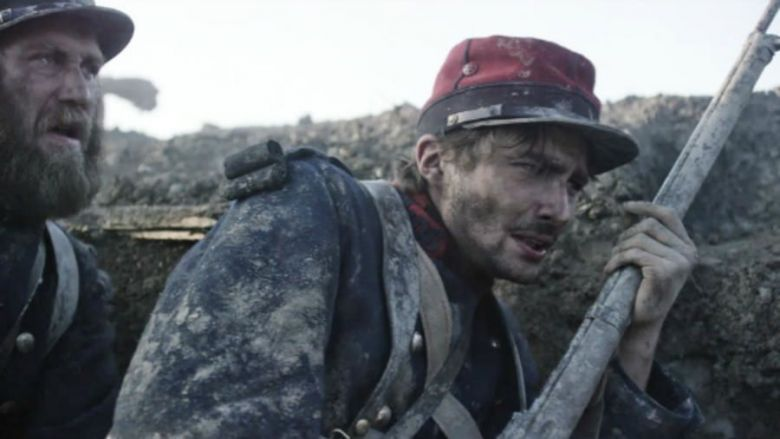 Nino Rocher interprète Gabriel Chevallier dans le film La Peur, mis en scène par Damien Odoul en 2015 / © Le Pacte